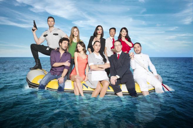 Imagen promocional de la serie de Telecinco 'Anclados'.
