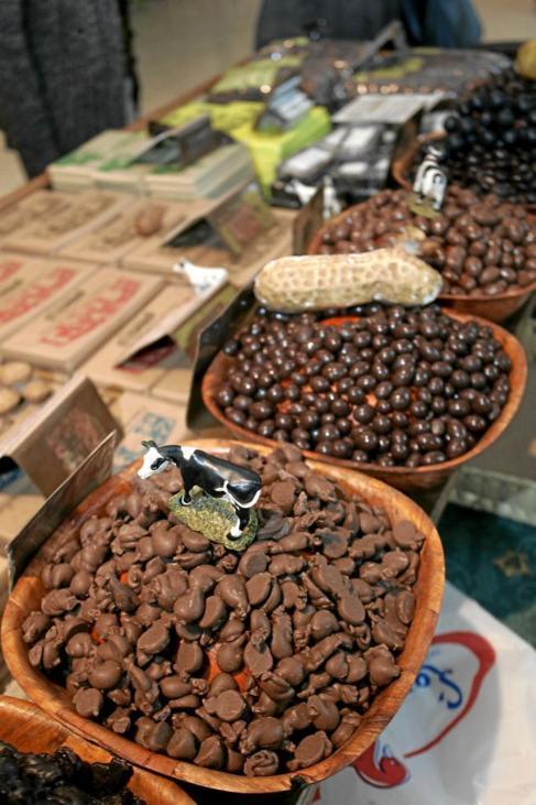 Cacao en el Salon del Chocolate.