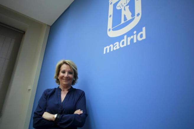 La portavoz del Grupo Municipal Popular en el Ayuntamiento de Madrid,...