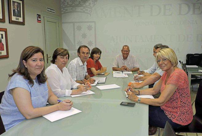 Los nuevos representantes políticos de la Junta de Portavoces de...