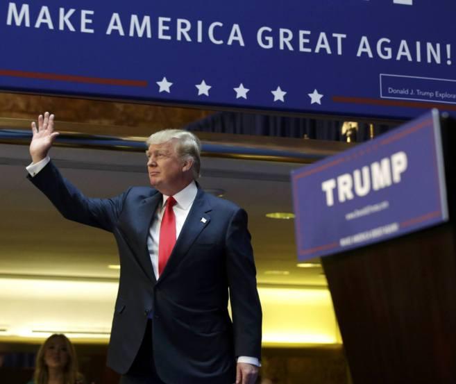 Donald Trump anuncia en Nueva York su intención de concurrir a las...