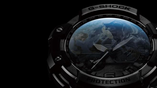 Un reloj de Casio con tecnología GPS Hybrid Wave Ceptor.