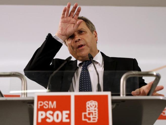 Antonio Miguel Carmona, portavoz del Grupo Municipal Socialista.