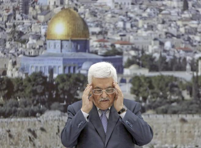 Abu Mazen, presidente de la Autoridad Nacional Palestina, en...