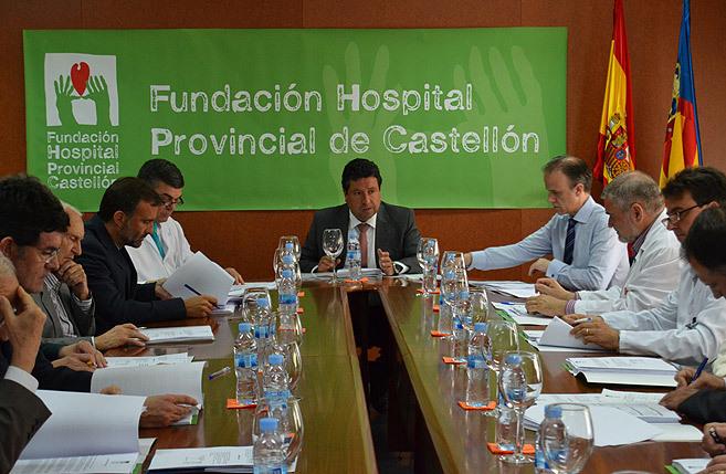 Una reunión del patronato de la Fundación del Hospital Provincial,...
