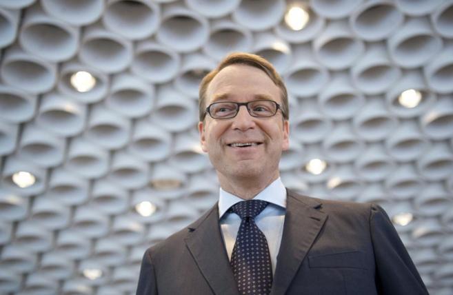 El presidente del Bundesbank, Jens Weidmann, en Fráncfort (Alemania)