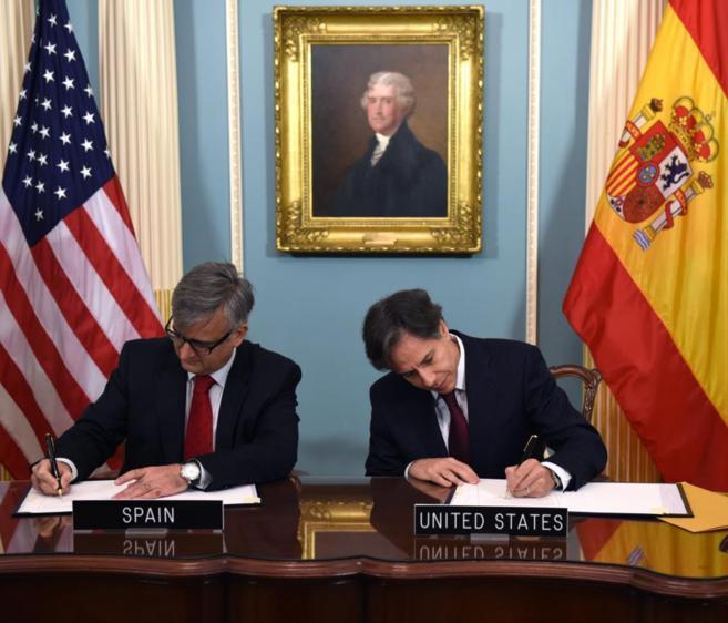 El secretario de Estado de Asuntos Exteriores español, Ignacio...