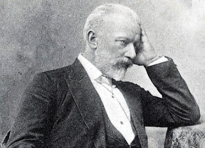 Retrato del compositor ruso Piotr Chaikovski, autor de 'El lago...