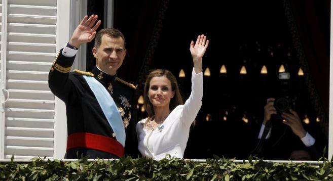 Los Reyes, el día de su proclamación, el 19 de junio de 2014.