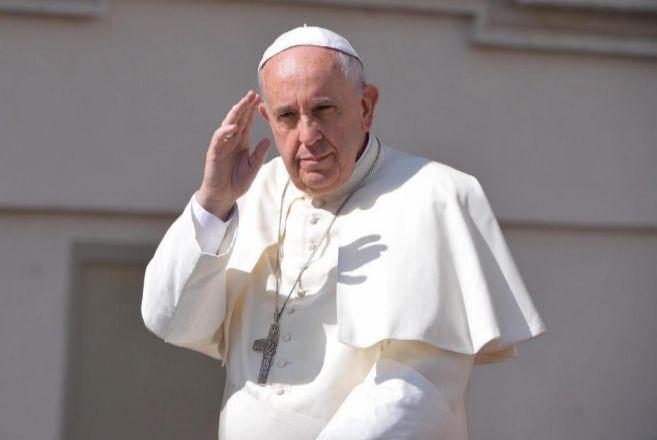 El Papa Francisco, este miércoles en la Plaza de San Pedro.
