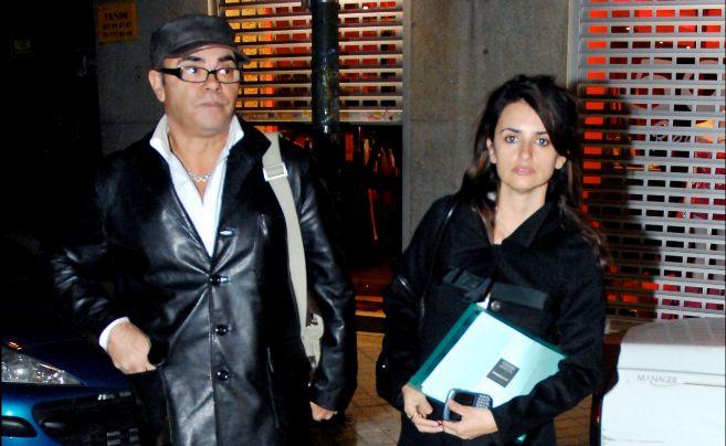 Eduardo y Penélope Cruz.