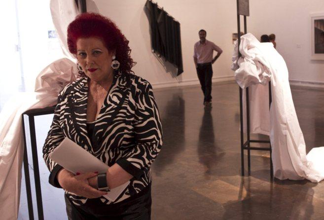 La ex directora del IVAM, Consuelo Císcar, en la presentación de una...