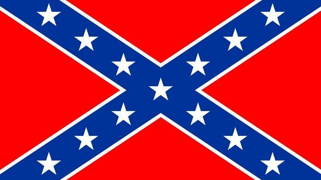 Bandera de los Estados Confederados de América.