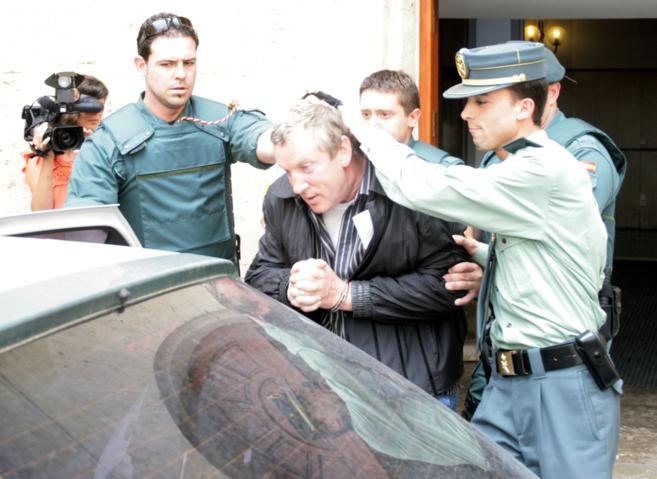 Petrov, detenido en Mallorca en el año 2008.