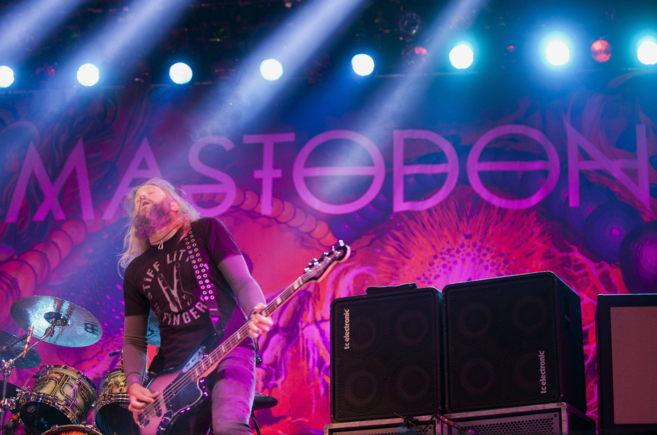 La banda de rock Mastodon sobre para cerrar la última jornada del...