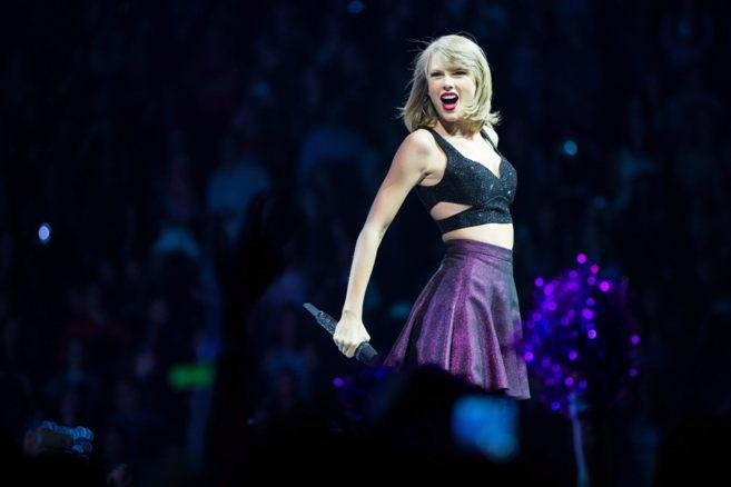 La cantante durante su reciente concierto en Alemania.