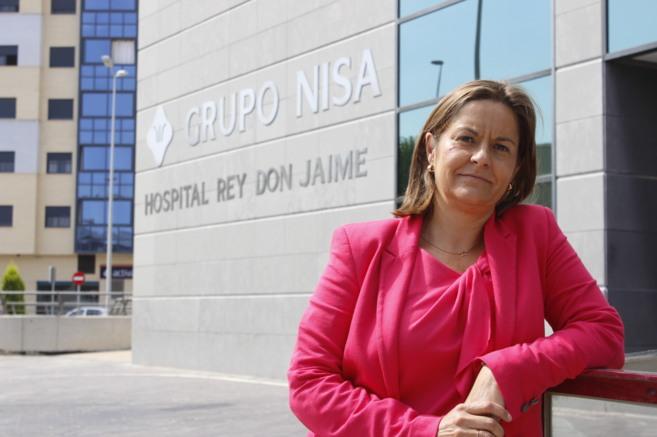 Amparo Marzal es la directora del Nisa Rey Don Jaime de Castellón.
