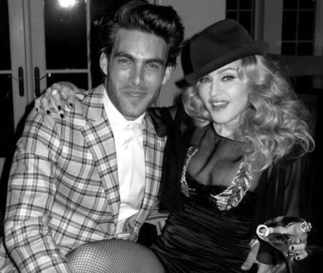 Jon Kortajarena y Madonna, en una imagen reciente.