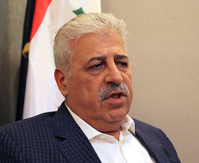 Atheel al Nujaifi, gobernador de Mosul en el exilio.
