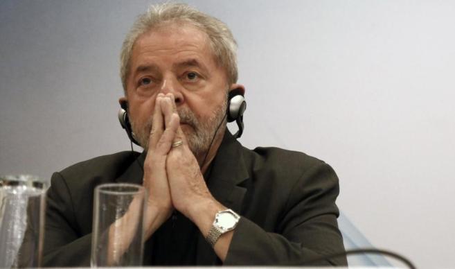 El presidente de Brasil, durante su intervención en Sao Paulo.