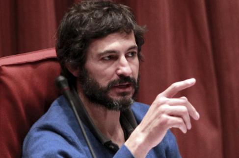 Oleguer Pujol, en su comparecencia en la comisión antifraude del...