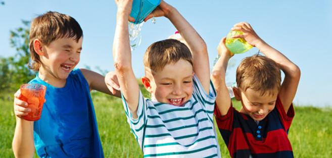 5 Juegos Con Agua Para Una Semana Calurosa Sapos Y Princesas El