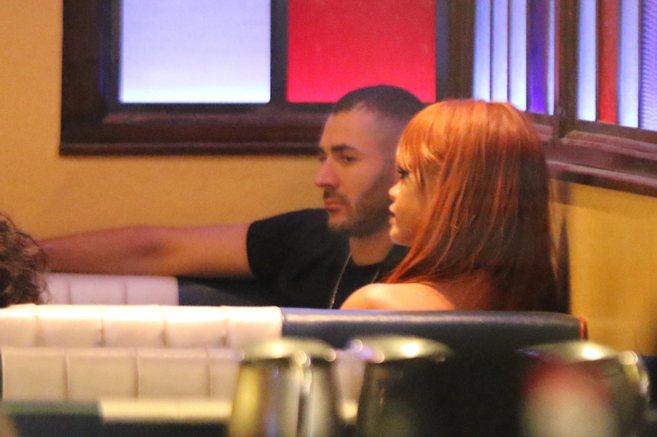 Benzema y Rihanna, el pasado 2 de junio en Nueva York.