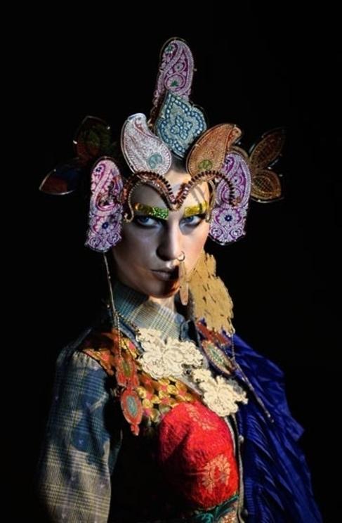 Shilpa Chavan When The British Raj In India Meets London Fashion Week Cultura El Mundo