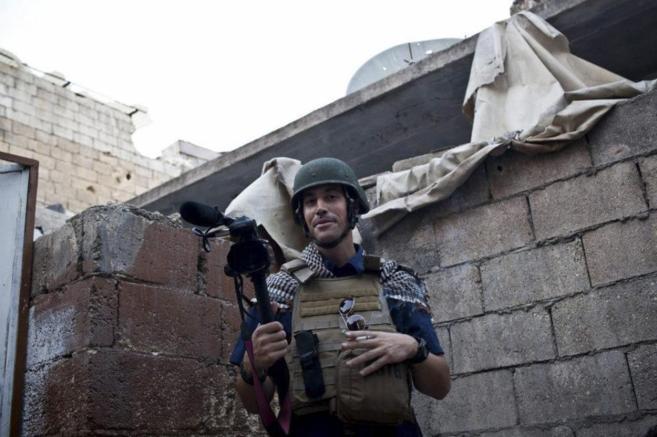El periodista americano James Foley, asesinado por yihadistas del IS,...