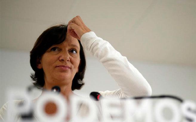 La secretaria de análisis de Podemos, Carolina Bescansa.