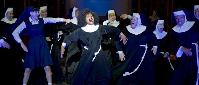 Presentacion del musical Sister Act en Barcelona