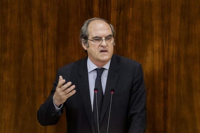 Ángel Gabilondo en su intervención en la segunda jornada de...