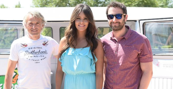Dani Rovira, junto a Calleja y Pedroche, sus compañeros de spot.