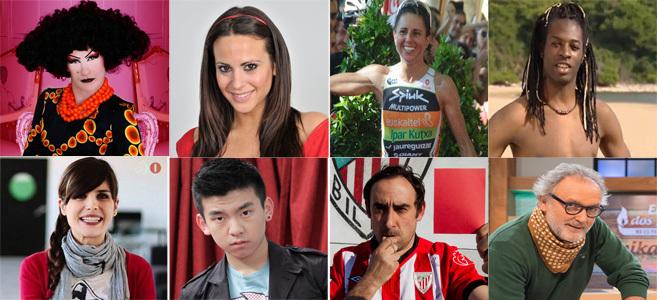 Yogurinha Borova, Begoña Alonso, Virginia Berastegi, Coman Mitogo,...