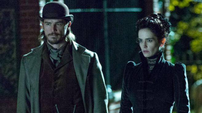 Josh Hartnett y Eva Green en una escena de 'Penny Dreadful'.