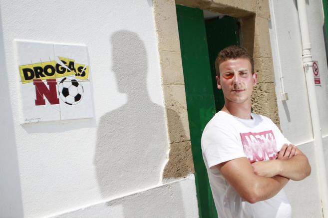 Fernando, en el centro de Proyecto Joven en Palma.
