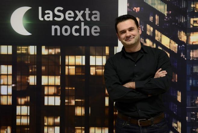 El presentador de 'La sexta Noche' Iñaki López.