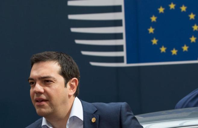 Alexis Tsipras, primer ministro griego, en Bruselas.