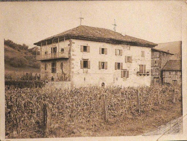 El caserón 'Itzea', lugar donde se ha recuperado el...