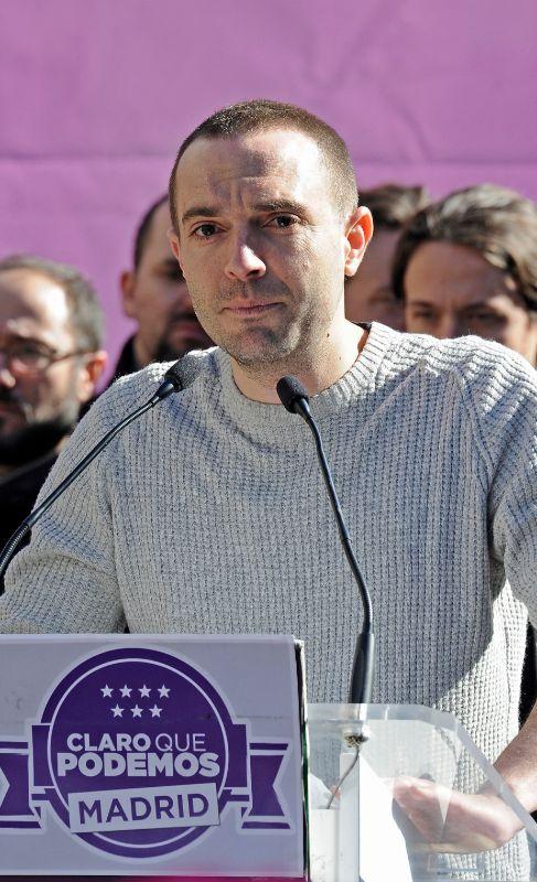 3. LUIS ALEGRE. Secretario General de Podemos en la Comunidad de...