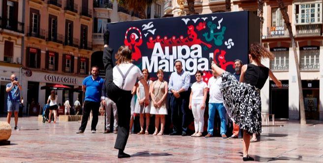 Acto de inauguración de la III Bandera Euskadi-Basque Country