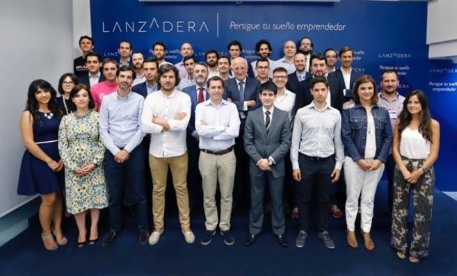 Los emprendedores de los 32 nuevos proyectos de Lanzadera con Juan...