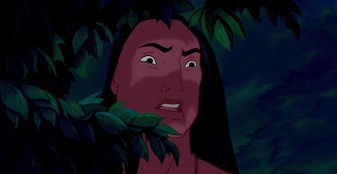 Kocoum, el personaje de Pocahontas que se volvió viral en Imgur.