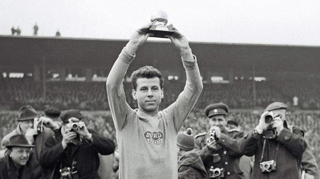 Josef Masopust en el Mundial de Chile 1962.