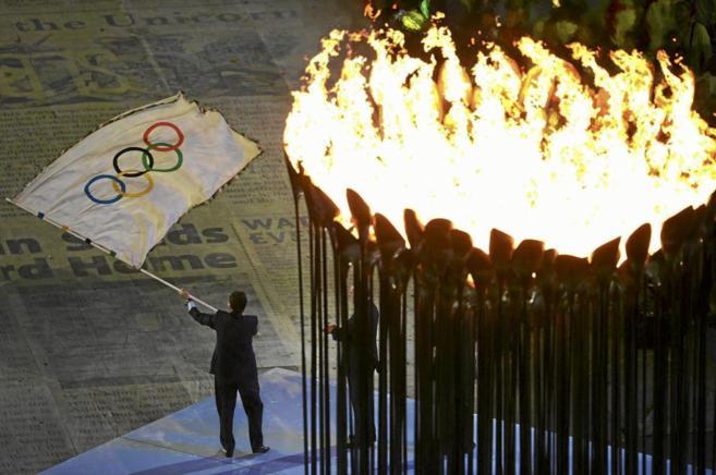 Ceremonia de clausura de los JJOO de Londres 2012.
