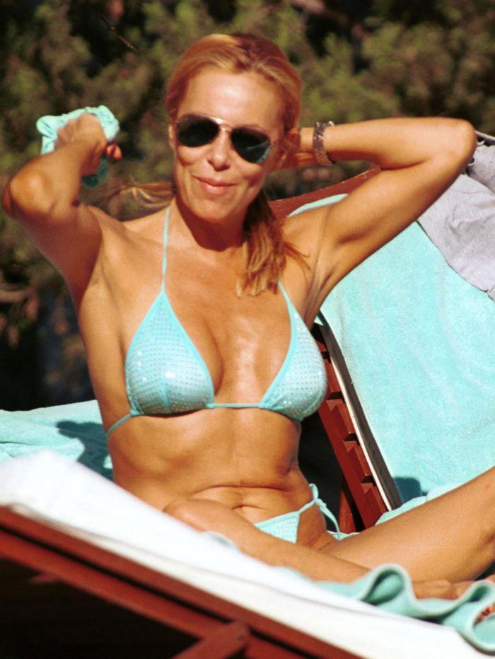 En 2001, en Marbella.