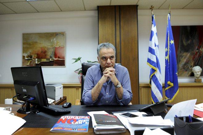 El ministro griego de Trabajo, Seguridad Social y Solidaridad, Panos...