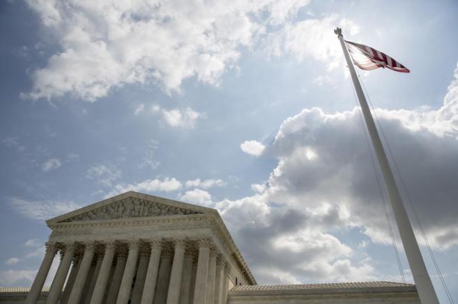 Vista del Tribunal Supremo de Estados Unidos