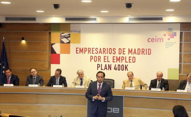 Juan Pablo Lázaro, presidente de Ceim, en el fórum 'Empresarios...