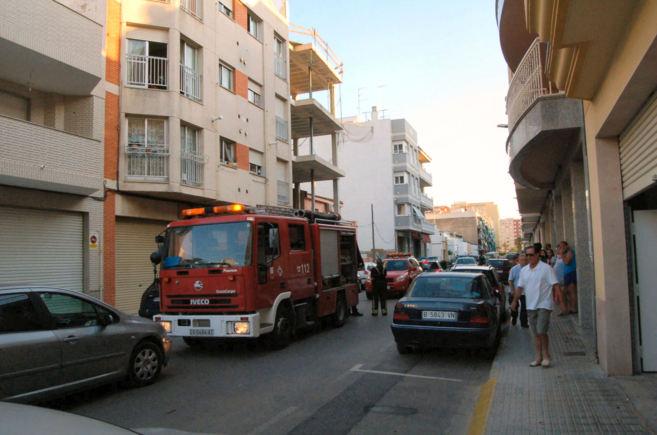 La víctima fue hallada en la vivienda que se quemó en la calle...